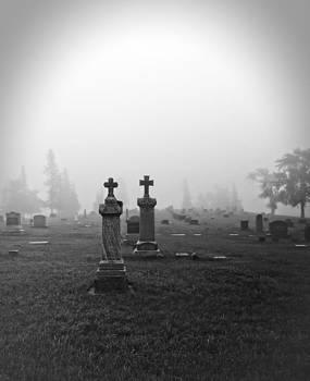 Ray Van Gundy - Foggy Cemetery