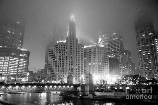 Foggy Chicago by Jason Feldman