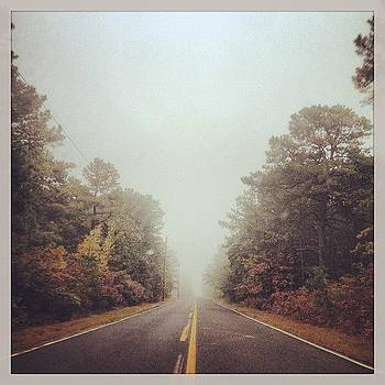 Foggy Fall Morning Drive #fall #leaves by A Loving