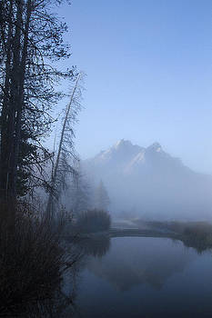 Foggy McGown Peak by Rick Otto