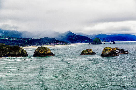 Jon Burch Photography - Foggy Morning along the Oregon Coast