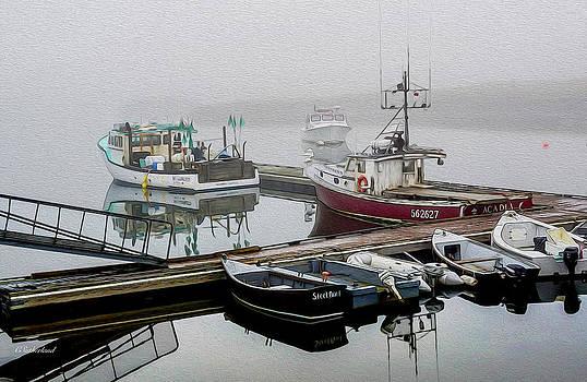 Foggy Morning III by Carol Sutherland