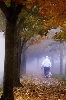 Paul Conrad - Foggy Morning Walk