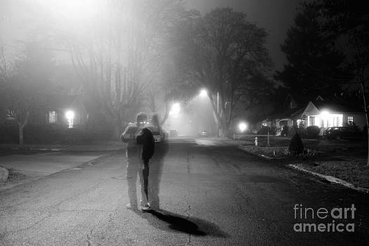 Foggy Night by Michael Cross