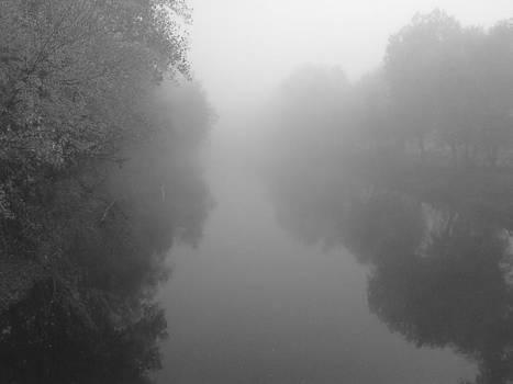 Foggy reflection by Mark C Ettinger