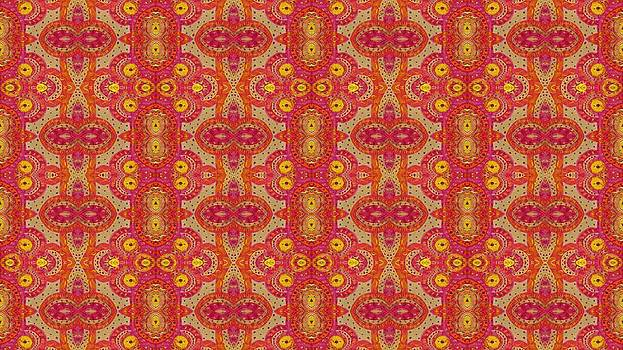 Folklore Design Pattern by Julia Fine Art And Photography