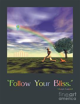 Walter Oliver Neal - Follow Your Bliss Poster 2