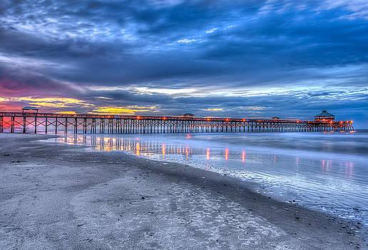 Folly Beach Fishing Pier by Keith Allen