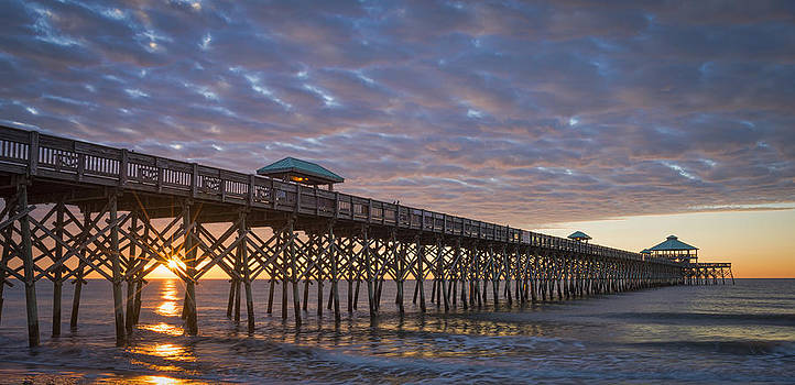 Folly Beach Sunrise by Brian Young