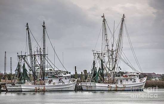 Dale Powell - Folly River Shrimp Boats