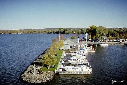 Fon du Lac Harbor #141 by Shawn Lyte