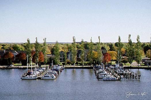 Fon du Lac Harbor #142 by Shawn Lyte