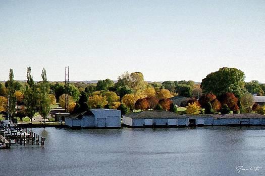 Fon du Lac Harbor #143 by Shawn Lyte
