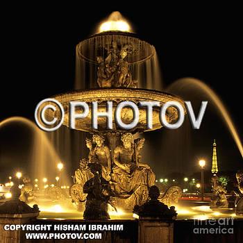 Fontaine des Mers - Place de la Concorde - Paris by Hisham Ibrahim