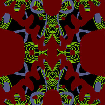Fontepx abstraction quad1 by John England