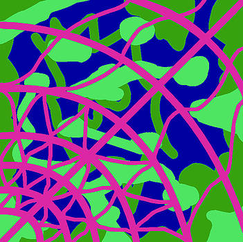 Fontepx abstraction18 by John England