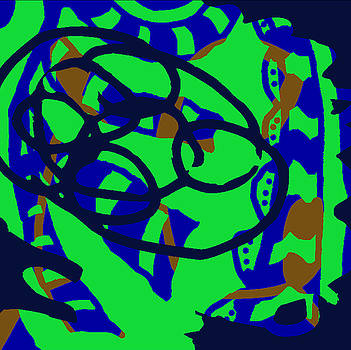 Fontepx abstraction19 by John England