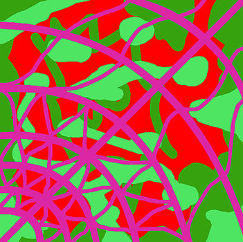 Fontepx abstraction9 by John England