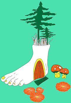 Foot Fort by Celina Frisson
