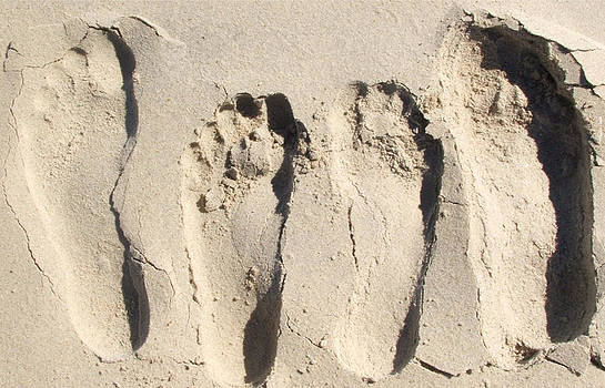 Foot Prints by Amanda Mitchell