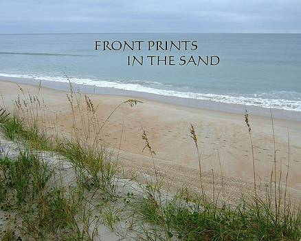 Bob Sample - Foot Prints in the Sand