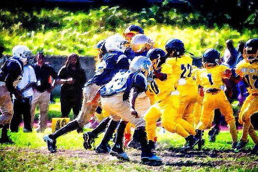 Football Game by Saibal Ghosh