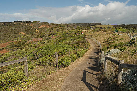 Footpath to Addiscot Beach by View Factor Images