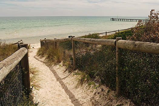 Footpath to beach by View Factor Images