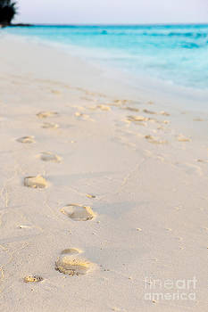 Jo Ann Snover - Footprints in sand