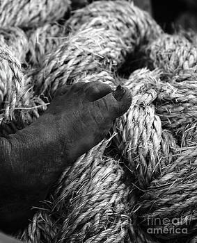 James Brunker - Rough Rope Footrest