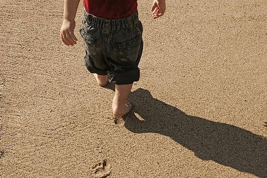 Footsteps by Nino Via