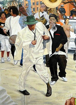 Footwork on Orleans Ave by Clifford Etienne