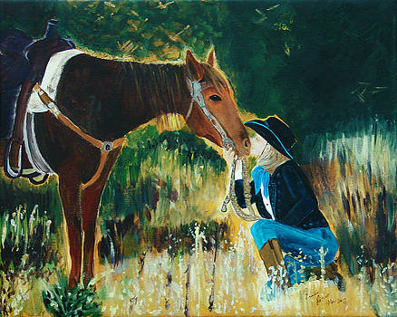 For Love of Horse by Frankie Picasso