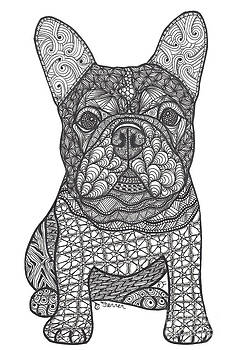 For the Love - French Bulldog by Dianne Ferrer