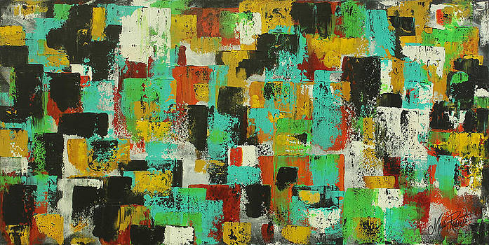 For The Love Of Abstract by Molly Roberts