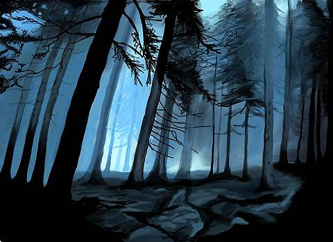 Forbidden Forest by Saskia Ahlbrecht