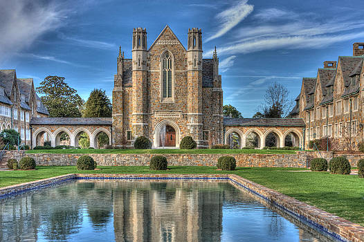 Ford Hall  Berry College by Gerald Adams