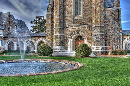 Ford Hall  Fountain  by Gerald Adams