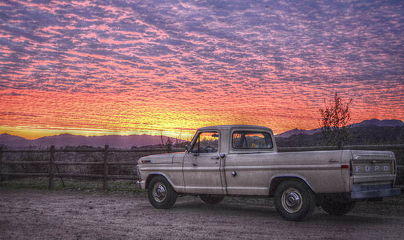 Ford in the Sunset by Brooke Clark