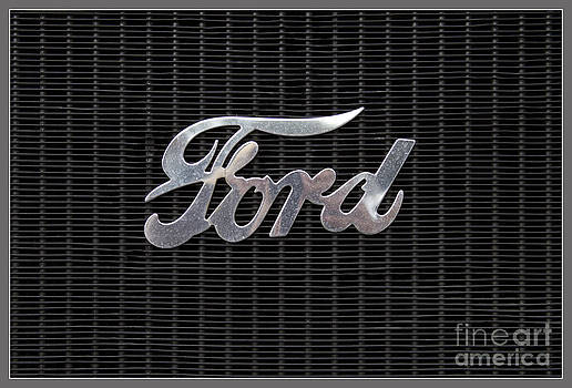 Heiko Koehrer-Wagner - Ford Logo on radiator front
