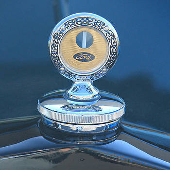 Ford  Model A Hood Ornament by Jim Cotton