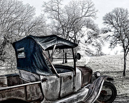 William Havle - Ford Model-T on Brewer Road