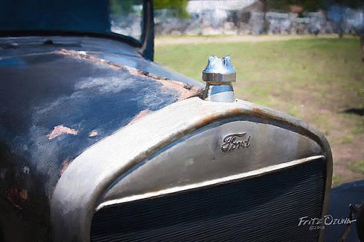 Ford Model T Radiator   8519 by Fritz Ozuna