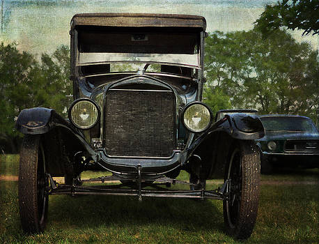 Ford Model T Vintage Car by Cat Whipple