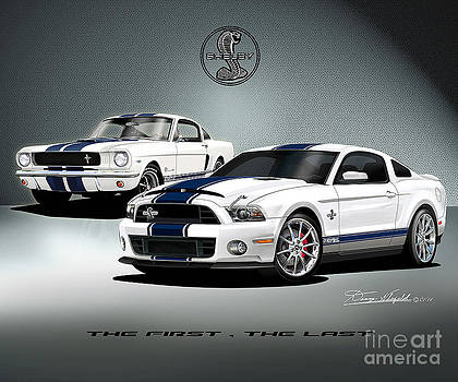 Ford Mustang Shelby The first the last by Danny Whitfield