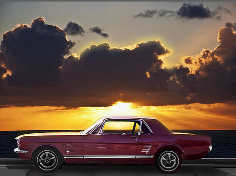 Larry Butterworth - FORD MUSTANG CALIFORNIA  SUNSET