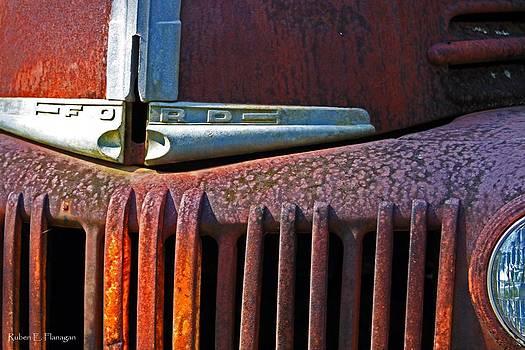 Ford Truck rusting by Ruben  Flanagan