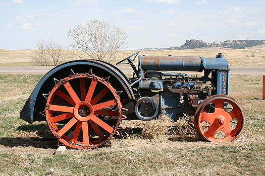 Fordson Tractor by J W Kelly