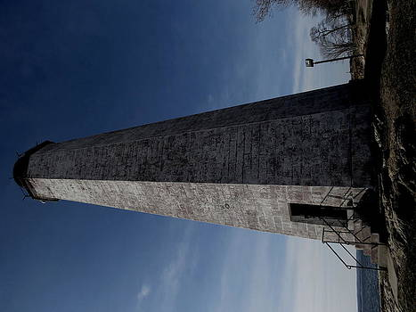 Foreboding Lighthouse by Stephen Melcher