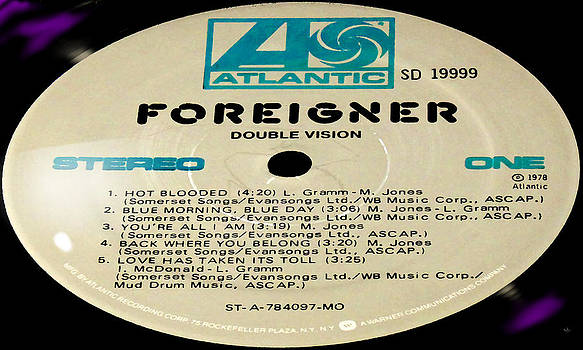Marcello Cicchini - Foreigner Double Vision Side 1